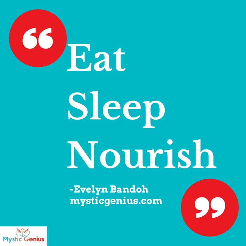 Meme- Eat Sleep Nourish