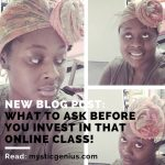 What To Ask Before You Invest in That Class
