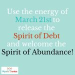 Reflection: Release the Spirit of Debt
